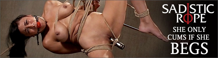 Sadistic Rope - She Only Cums If She Begs
