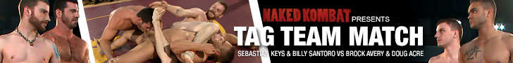 Naked Kombat Presents - TAG TEAM MATCH - Sebastian Keys & Billy Santoro VS Brock Avery & Doug Acre