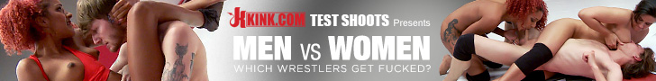 Kink Test Shoots Presents - Men VS Women - Which Wrestlers Get Fucked?