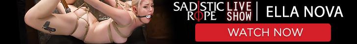 Sadistic Rope Live Show Ella Nova