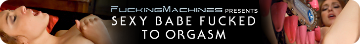 fucking machines presents sexy babe fucked to orgasm