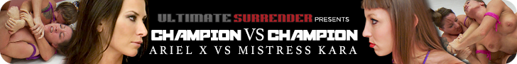 ultimate surrender presents champion vs champion ariel x vs Mistress kara