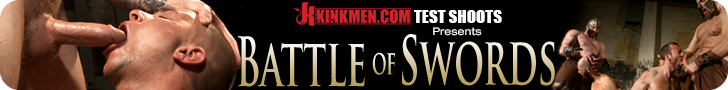 KinkMen.com Test Shoots Presents Battle of Swords