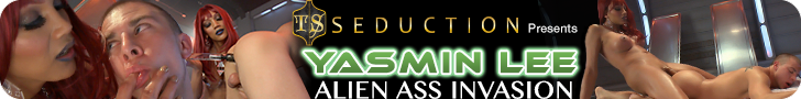 TS Seduction presents Yasmin Lee Alien Ass Invasion