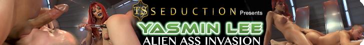 TS Seduction presents Yasmin Lee Alien Ass Invasion