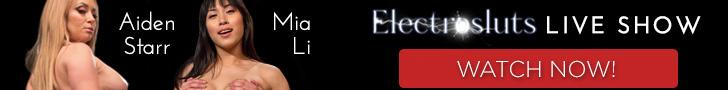 Aiden Starr and Mia Li Electrosluts Live Show