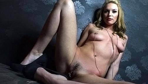 Slave Slut Roxanne Rae Breaks in Newbie Keira Nicole