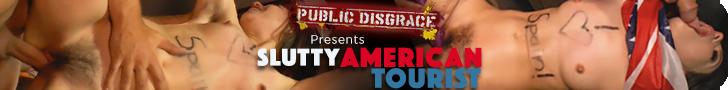 Public Disgrace presents Slutty American Tourist