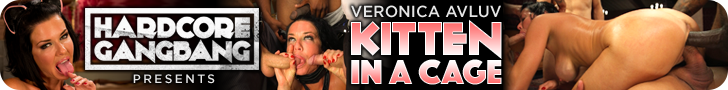 hardcore gangbang presents Veronica Avluv Kitten in a Cage