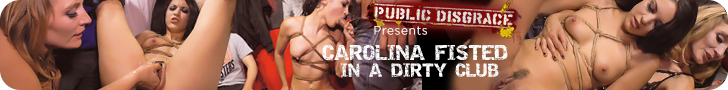 Public Disgrace Presents Carolina Fisted In A Dirty Club