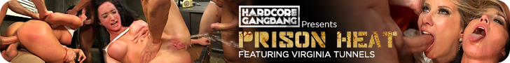Hardcore Gangbang Presents - Prison Heat - Featuring Virginia Tunnels