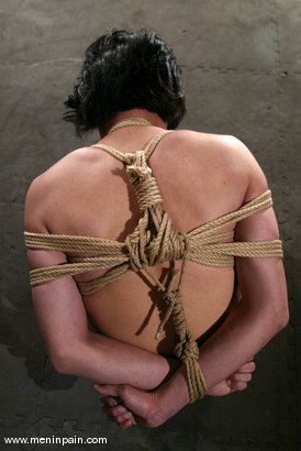 Bondage rope lessons something