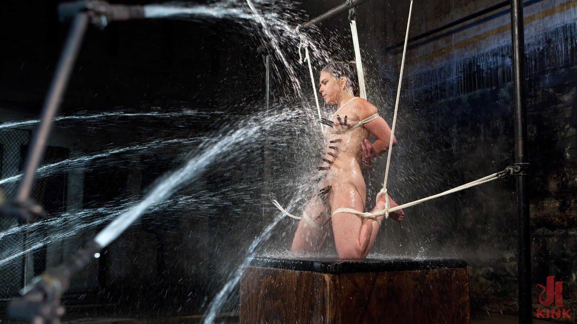 Dahlia suffers in extreme bondage 3