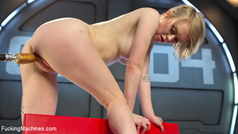 Blonde Pixie Gets Fucked Into Oblivion