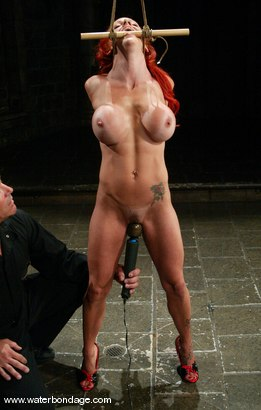 Tranny dominates husband and wife vid