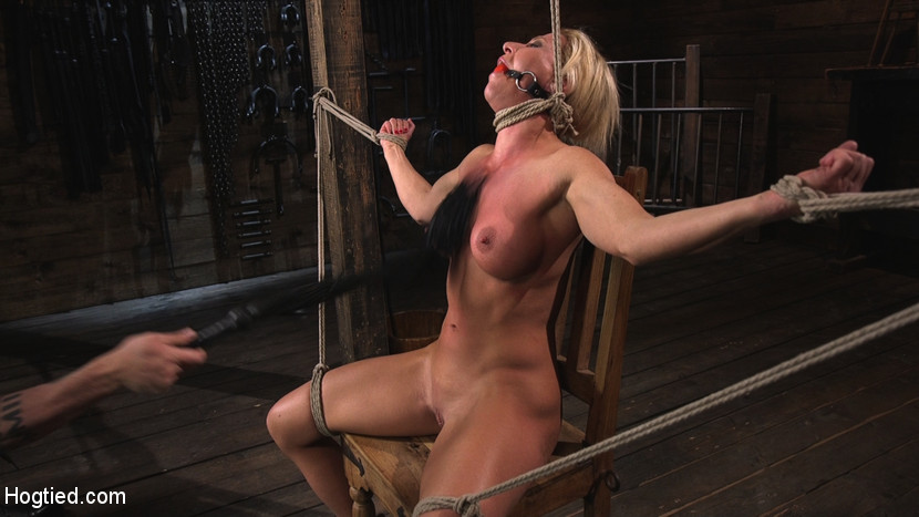 Ariel X is Tormented in Brutal Bondage and Double Penetrated