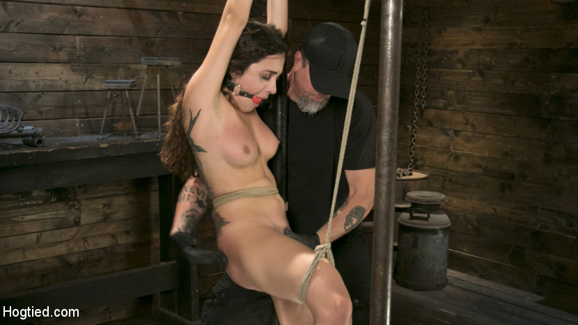 Masochistic Pain Slut is Sadistically Dominated in Extreme Bondage