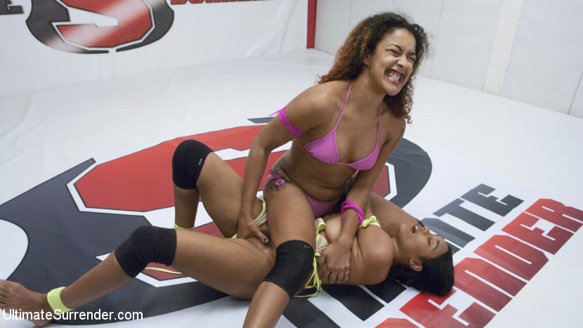 Ultimate Surrender's Most Orgasmic wrestler is drained from Orgasms
