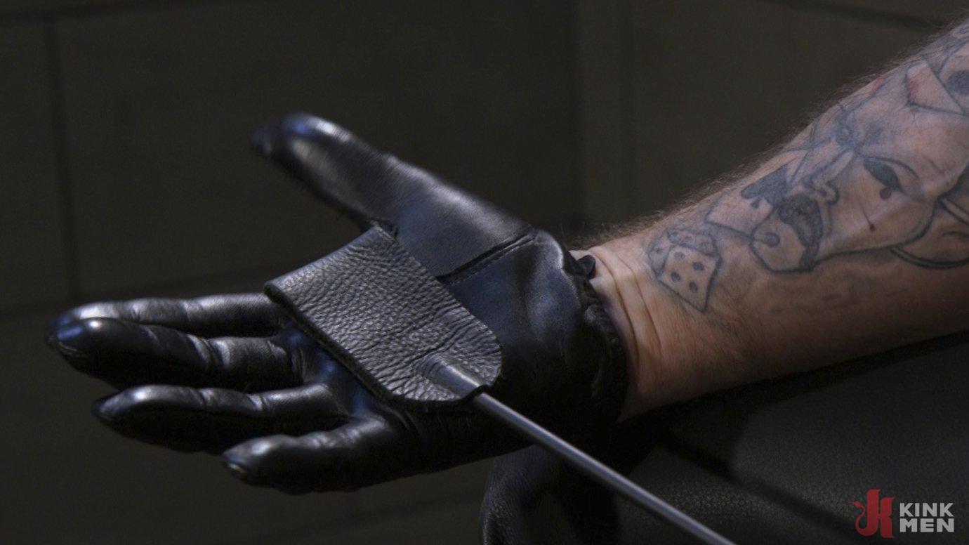 Leather God Trenton Ducati Dominates & Destroys Straight Stud