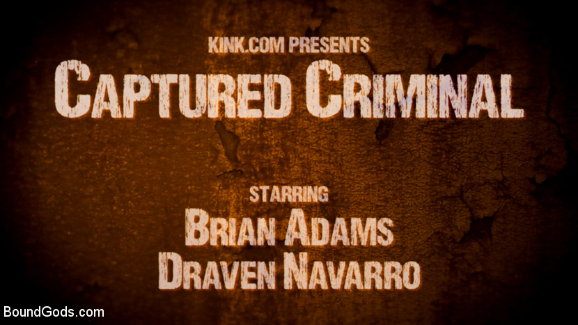 Captured Criminal: Hard Working Stud Gags & Punishes Wanted Thief