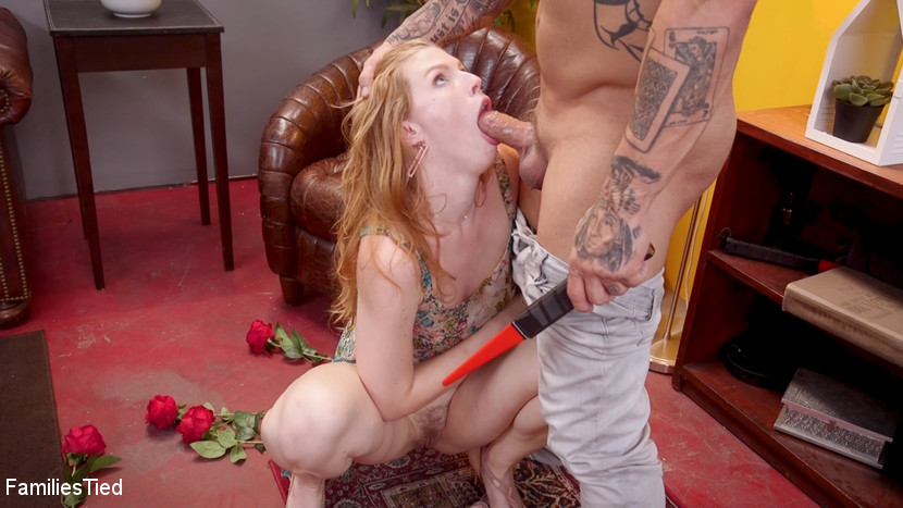 Screenshot #3 from Slutty Teen Trained to Serve Orgy by Submissive Anal Queen Kira Noir movie