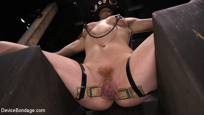 Screenshot #1 from Lacy Lennon: Gorgeous Redhead's Sensual Submission movie
