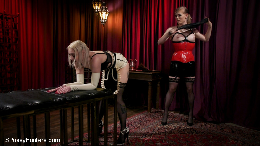 Screenshot #1 from The Filthy Maid: Roxxie Moth Disciplines Incompetent Arielle Aquinas movie