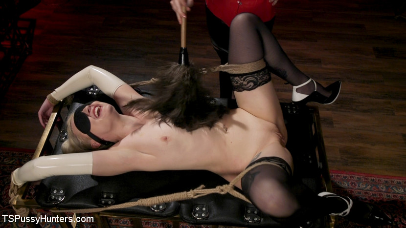 Screenshot #3 from The Filthy Maid: Roxxie Moth Disciplines Incompetent Arielle Aquinas movie
