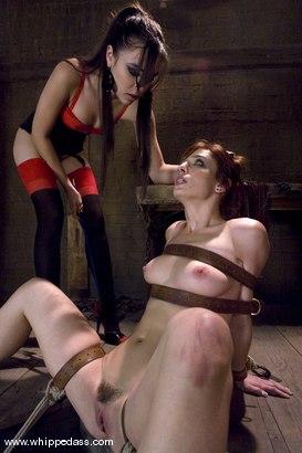 Girl on girl spank