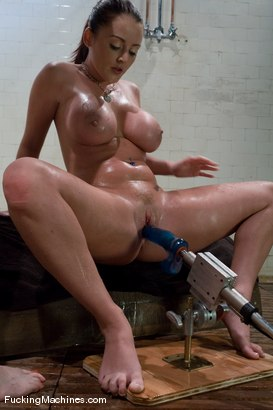 Shaved high heels suspended